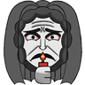 Insidious Chapter 3 Emoticon 2: Sad Face by GymLeader-Jessie