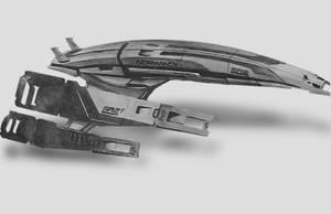 SR2 Normandy by loonyface