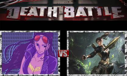 Nico Robin vs Lara Croft