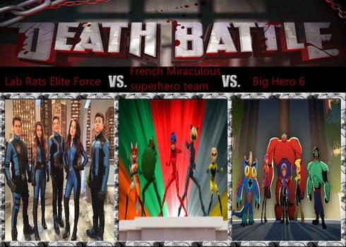 5 Man Teen Team 3 Way Battle