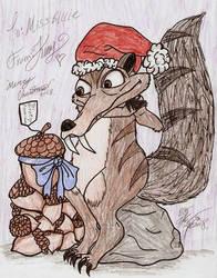 Scrat's Christmas Gift