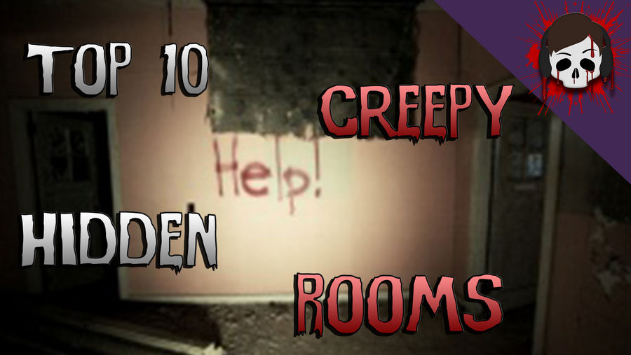 Top 10 Creepy Hidden Rooms Thumbnail by DiceRollen on DeviantArt