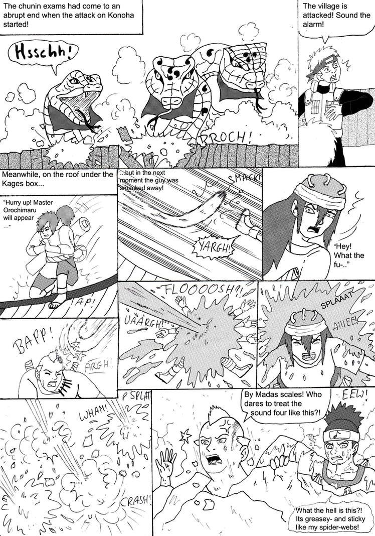Naruto Kitsune ch 8 page 1 by Princessvegata