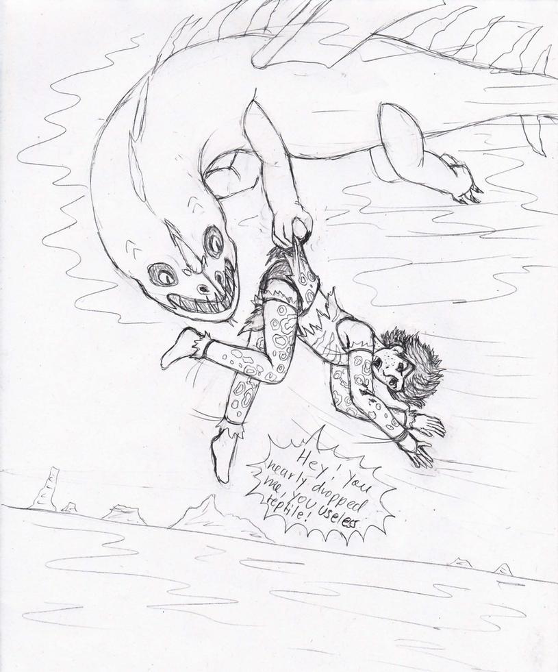 HTTYD Carried away by Princessvegata