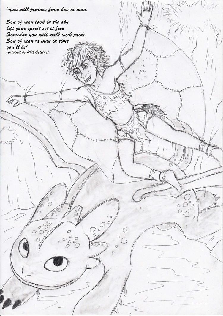 HTTYD Son of man pt 2 by Princessvegata