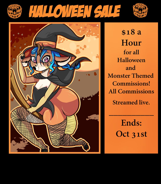Halloween Sale by Gokai-Chibi