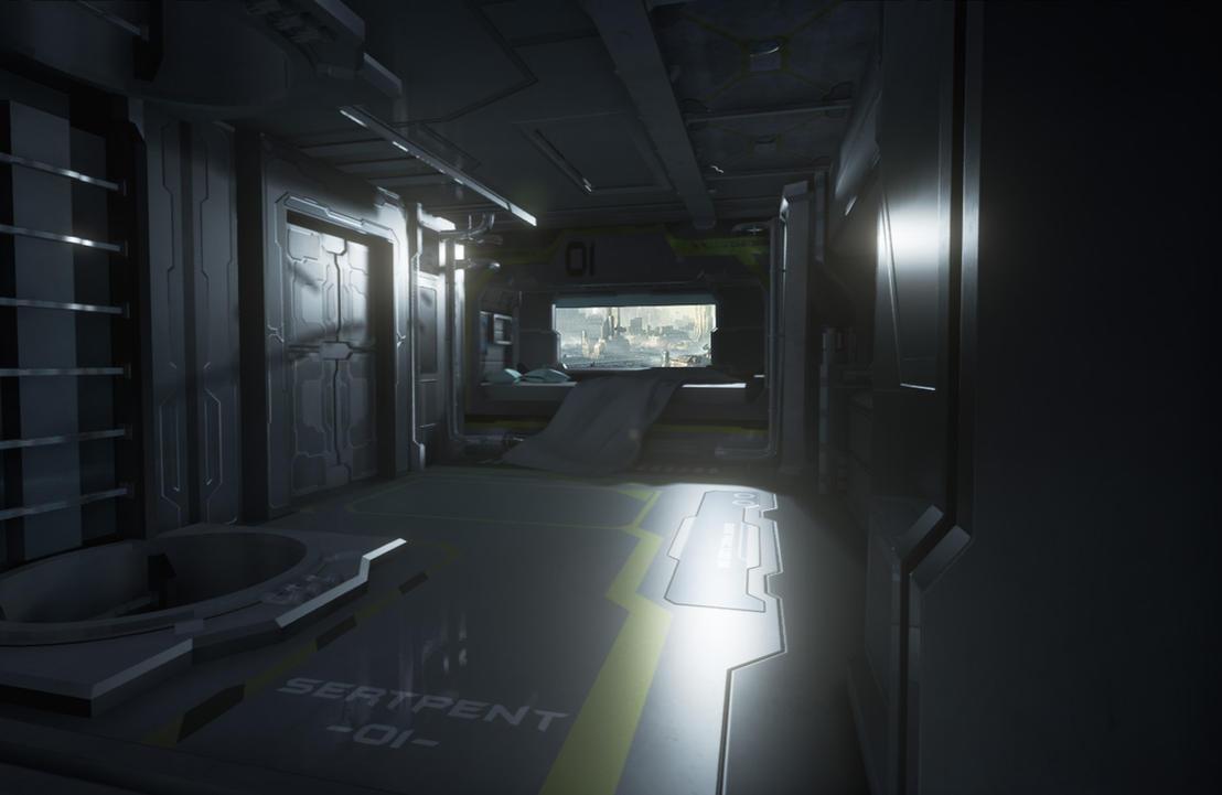 Sci Fi Hospital Room : Sci fi bedroom sertpent squad by arovit on deviantart