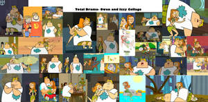 Total Drama- Owen and Izzy Collage