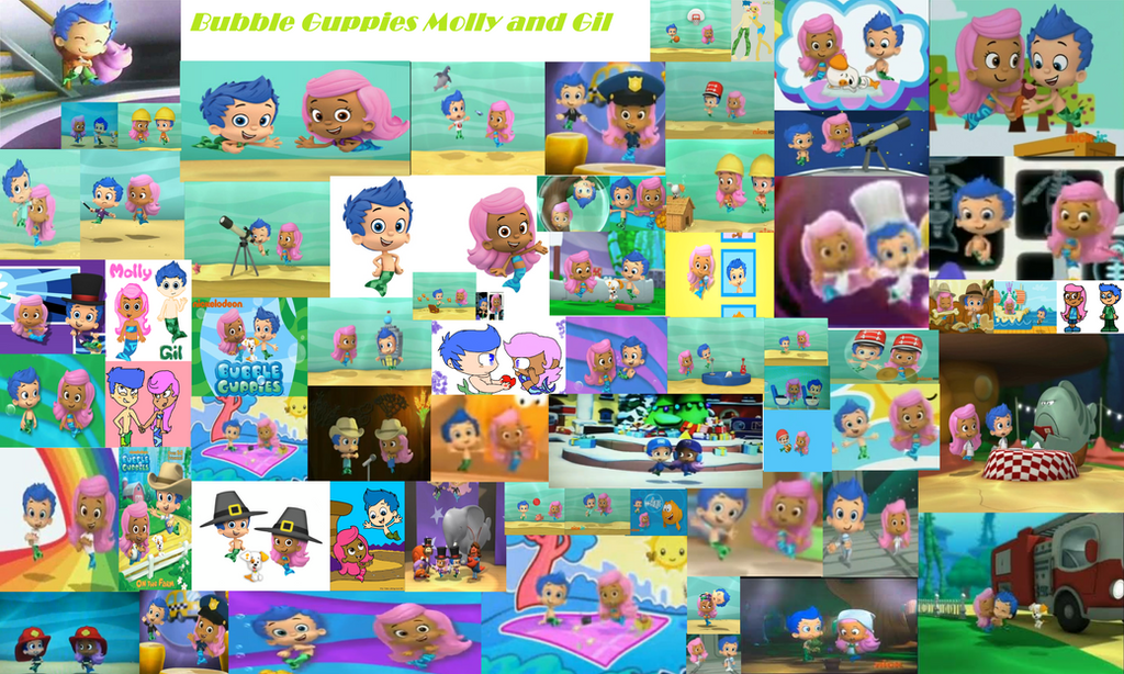 bubble guppies are molly and gil dating games