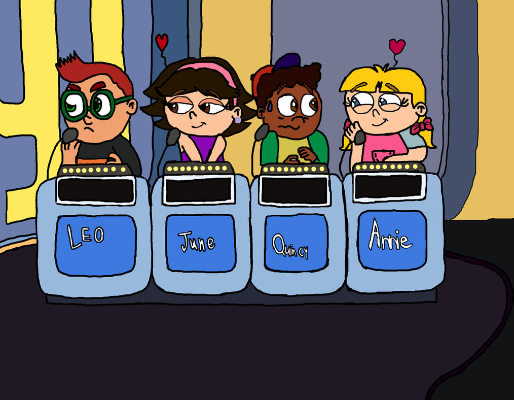 Cartoon Characters Jeopardy : Little einsteins on super jeopardy by bigpurplemuppet