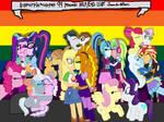 MLP EqG LGBT Smooch-athon by bigpurplemuppet99