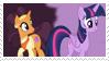 Twilight Sparkle x Saffron Masala Stamp by bigpurplemuppet99
