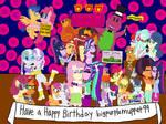 Happy Birthday to bigpurplemuppet99 by bigpurplemuppet99