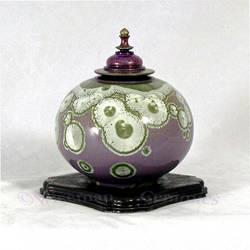 Crystalline Glaze Violet 1 by Jess-Wiseman