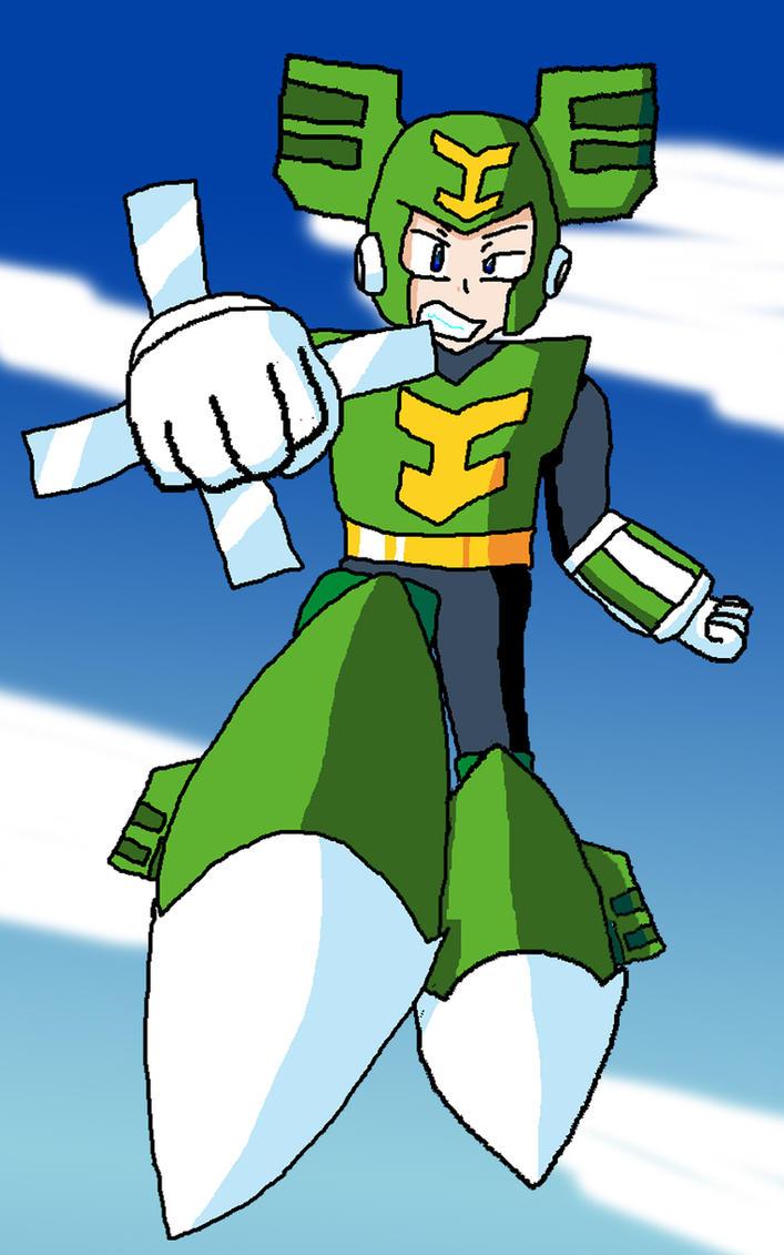 Mega Man: Tornado Man by Superjustinbros