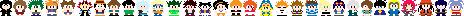 Random 8-Bit Characters by Superjustinbros