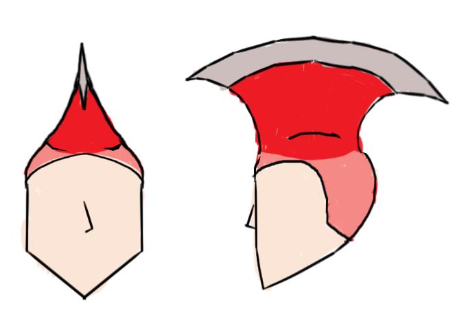 M-02 WARMAN's Axe Hair Design Sketch by Superjustinbros