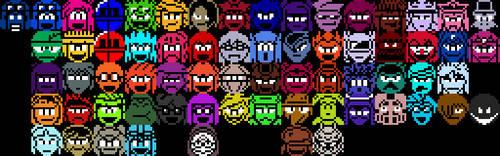 Aozora's Advenutre Pixel Character Icons