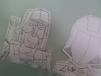 Megatron on the Wall of Evil