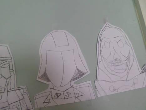 Skeletor and Cobra Commander The Wall of Evil