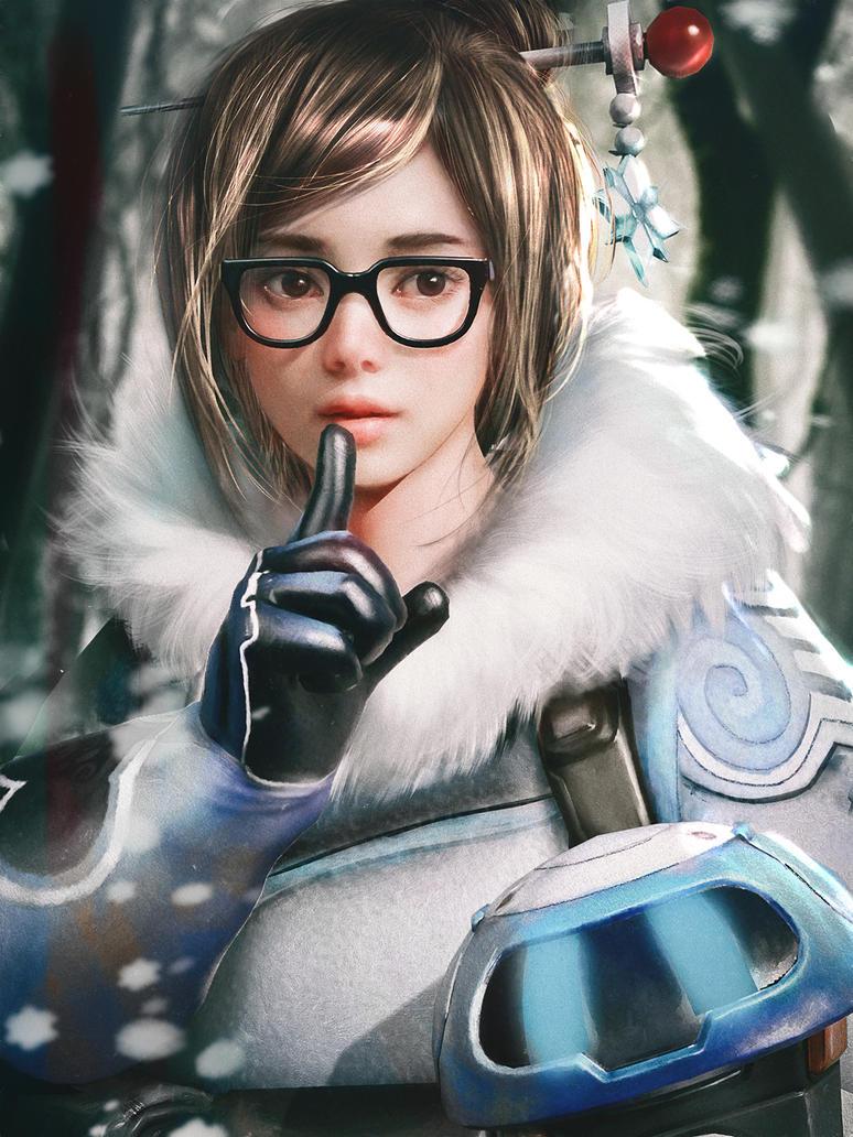 Overwatch Mei by cursedapple