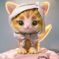 A Kitten by cursedapple