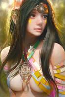 A Girl by cursedapple