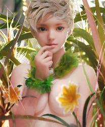 Green by cursedapple