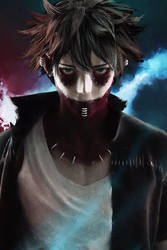 Dabi from My Hero Academia