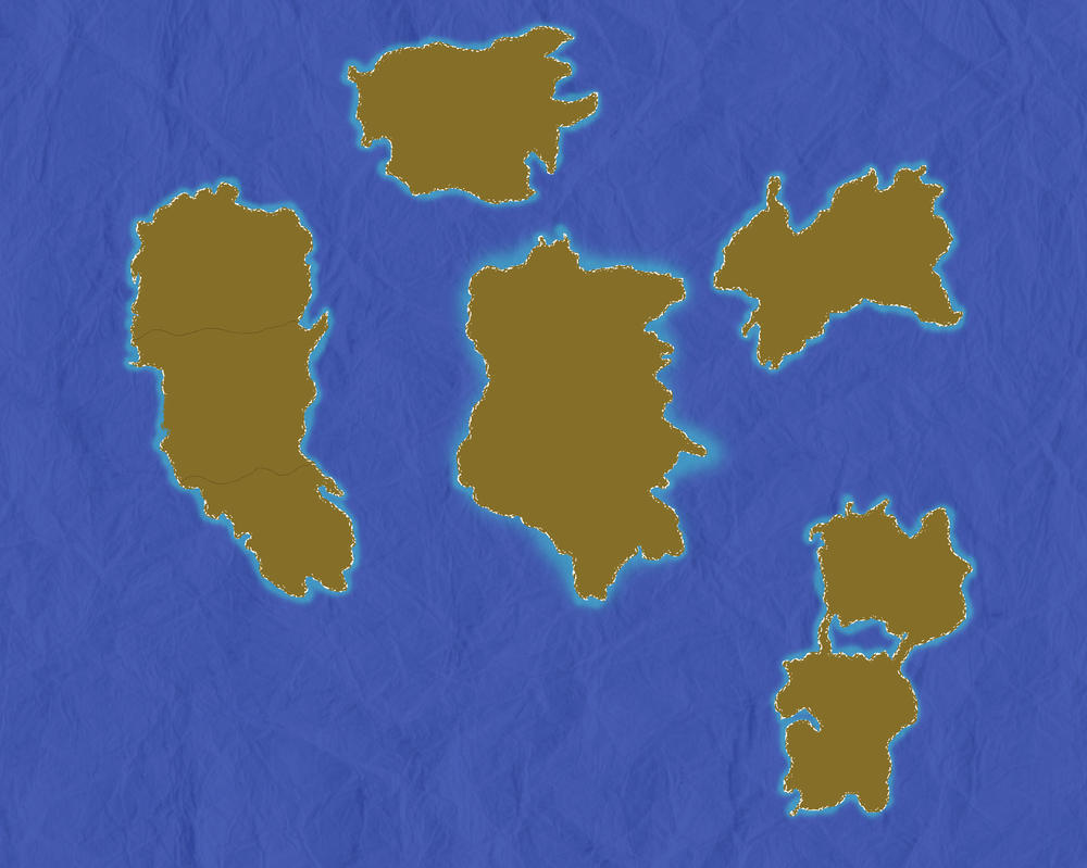Map version 2.0 wip by 45dragoons