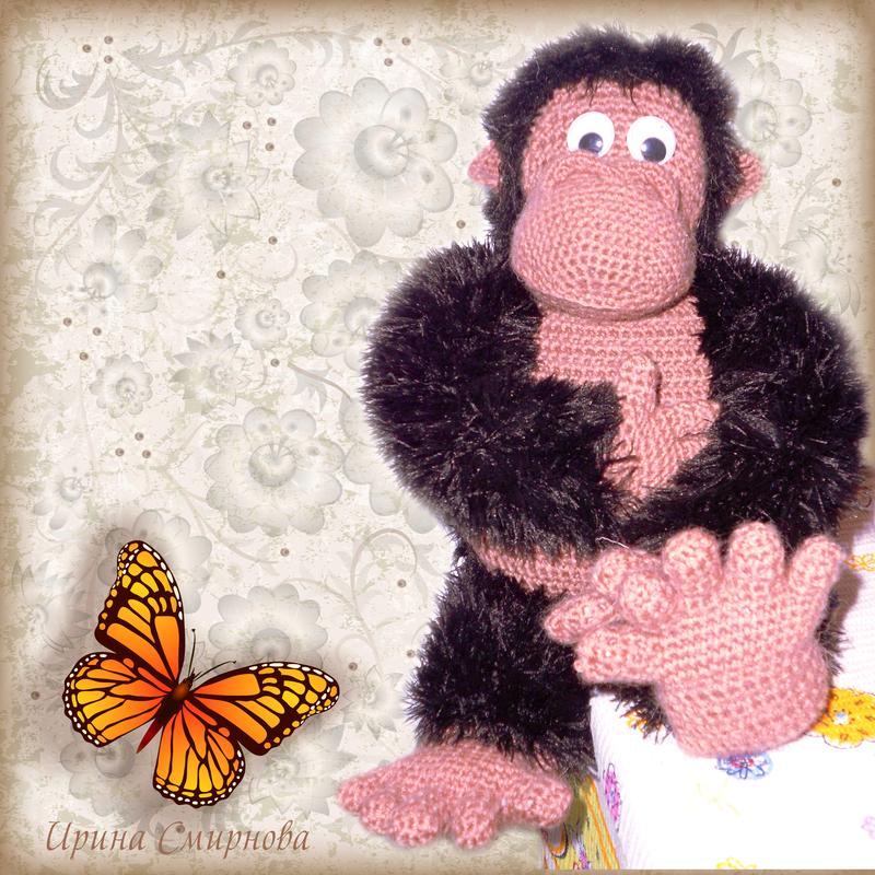 monkey by IrishkaSSSSSSS