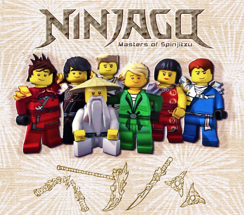 Ninjago Main Cast by kemurikat on DeviantArt