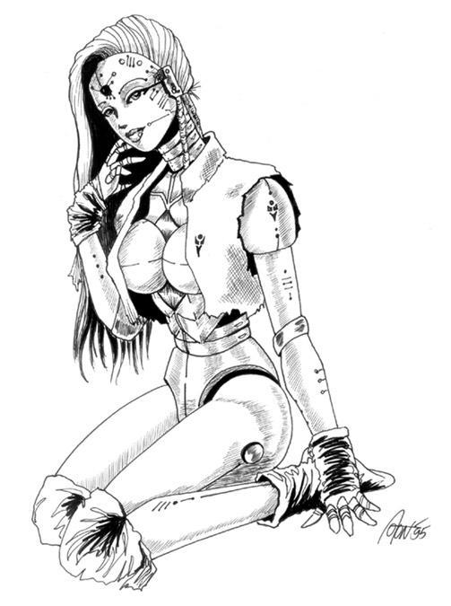 Robot Girl by kemurikat