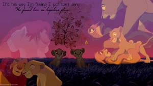 Simba and Nala Wallpaper