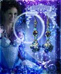 Blue Fairy Inspired Earrings