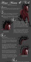 Mane-n-Tail Tutorial by Candrence
