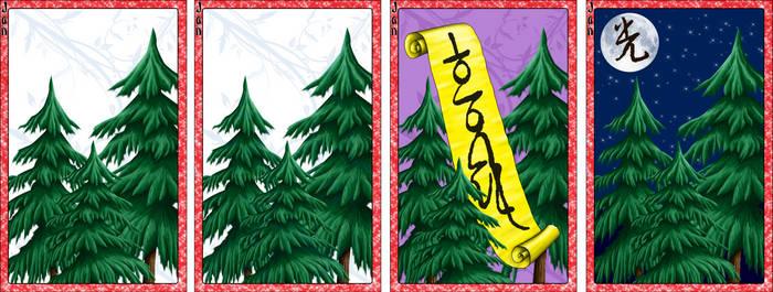 Go Stop Card Game Custom Design - January