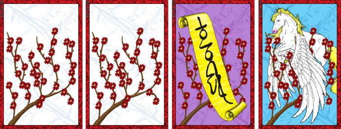 Go Stop Card Game Custom Design - February
