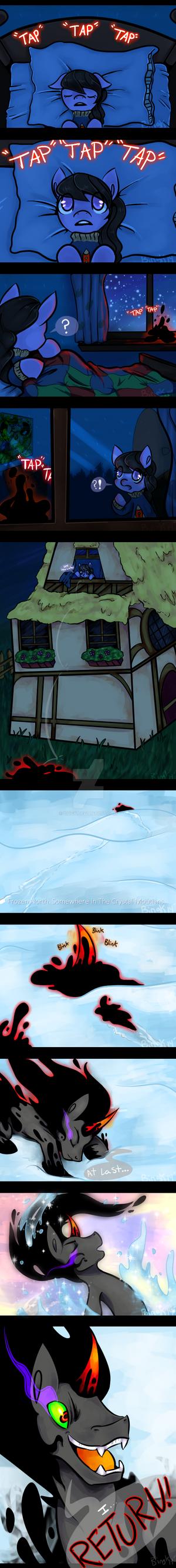 Sombras return by Bingk