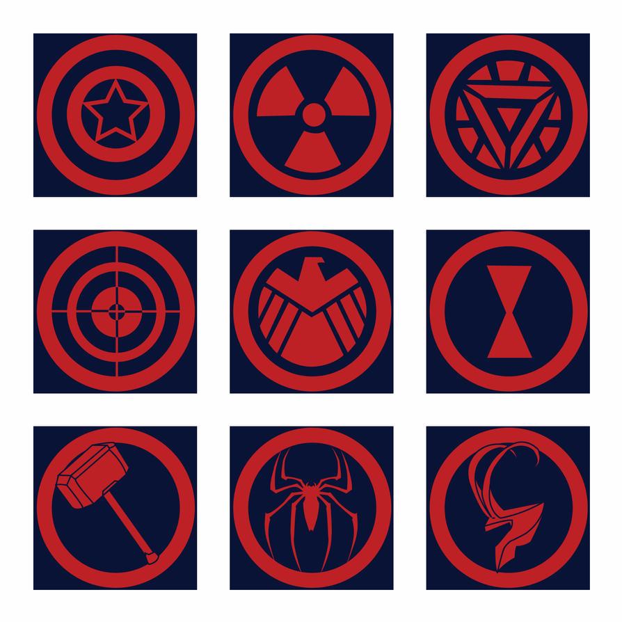 Avengers Logos 313920795 on Pre K Letter Art