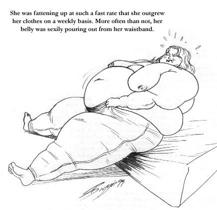 Weight gain sex stories