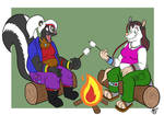 Chelsea and Alicia - Marshmallows by Jackson Munch by AnthroLoverJay