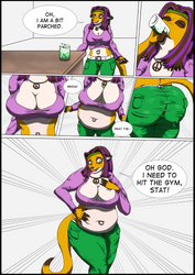 Carly's Soda Bloat by drdamarcus