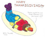 Paige's Thanksgiving Platter by AnthroLoverJay