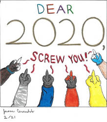 A Salute to 2020 by AnthroLoverJay