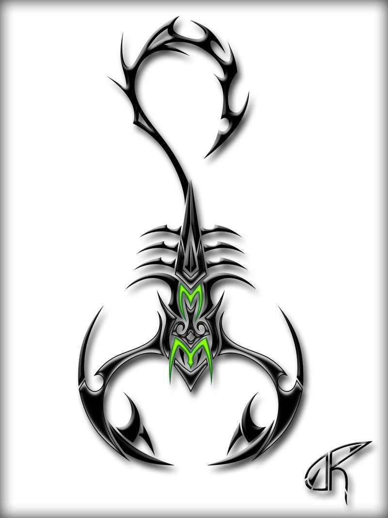 Scorpion Tattoo Design Drawings