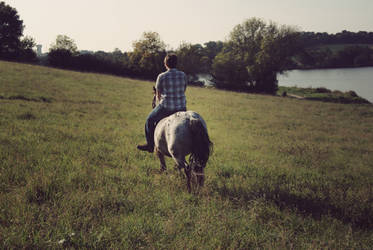 peacefulness by horsdemavue