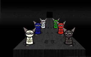 Neko - The Ninja Wallpaper by RestlessLynx
