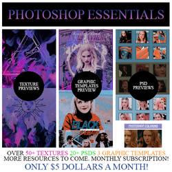Photoshop Essentials (Read Description)