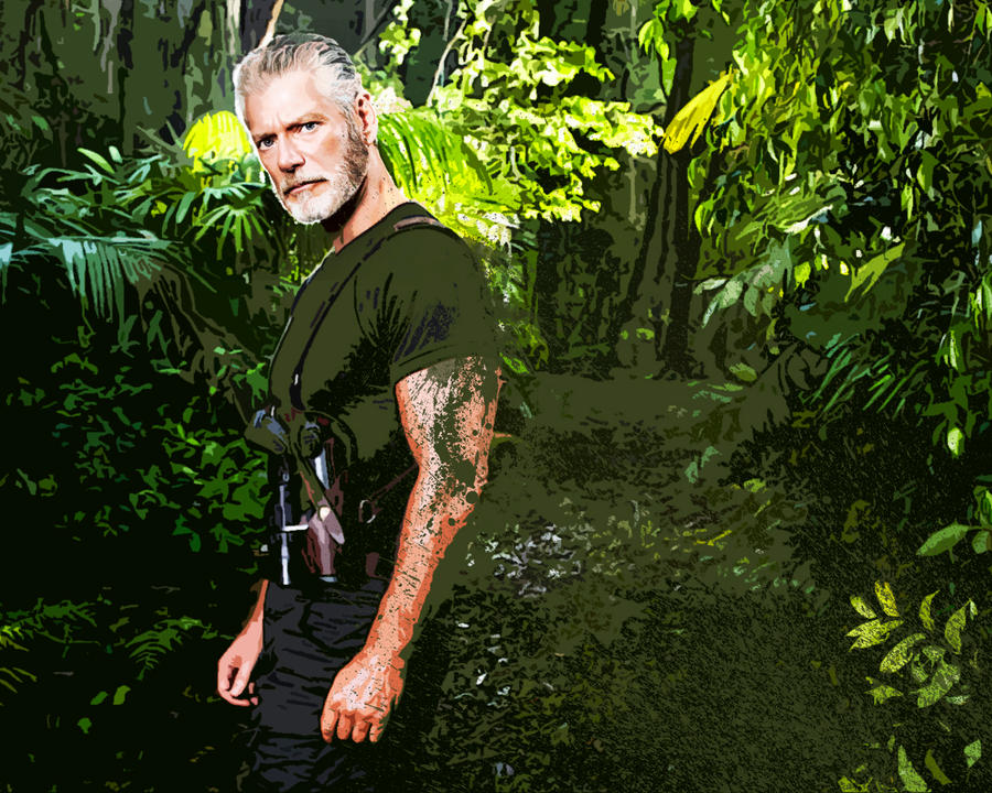 Stephen Lang. Terra Nova by StalkerAE on deviantART